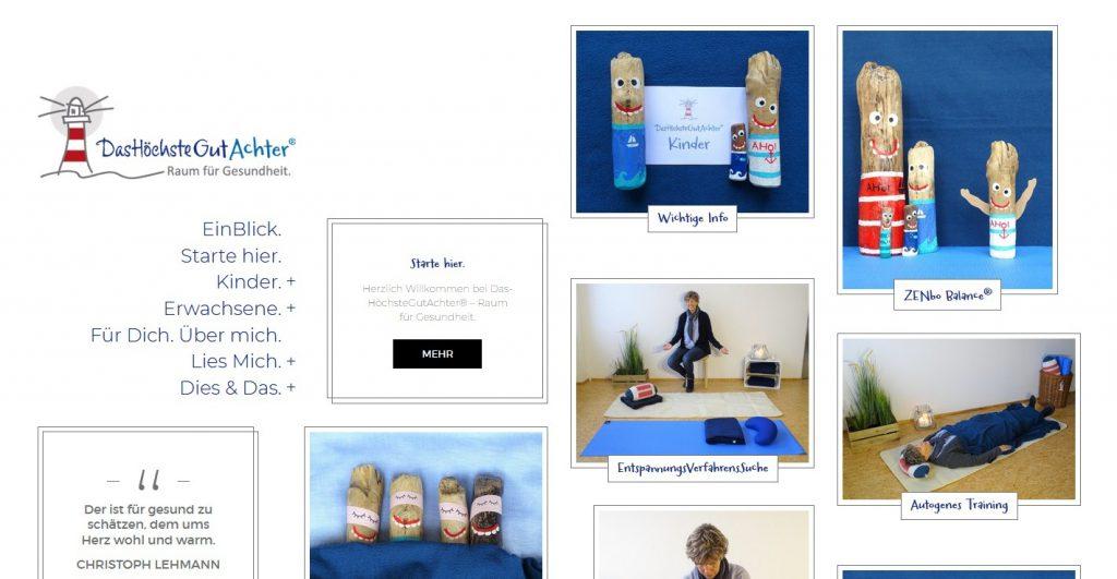 Webseite DHGA - Petra Schuster Online Marketing & Social Media PR